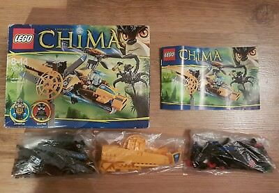 LEGO Legends Of Chima LAVERTUS TWIN BLADE set 70129