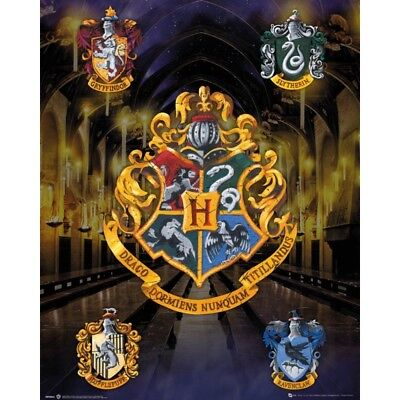 GB eye Harry Potter, House Crests, Mini Poster 40x40 cm, Various