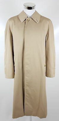 the latest b9c8b 2c696 BURBERRYS TRENCHCOAT HERREN Gr. 46 R L Beige Mantel Nova Check Vintage  Burberry