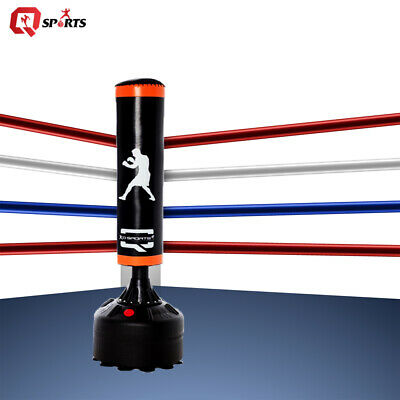 Q Sports 5ft Free Standing Heavy Duty Boxing Punch Bag MMA Kick Boxing Exercise