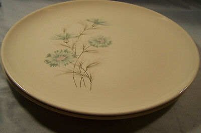 """2 Taylor Smith Ever Yours Boutonniere Dinner Plates 10 1/8"""""""