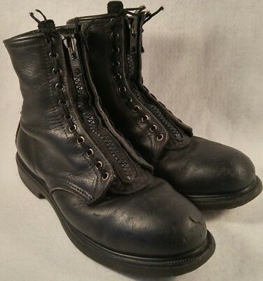 RED WING 4473 Black Leather Steel Toe
