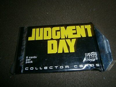 Single Sealed Trading Card Pack- Jugdement Day