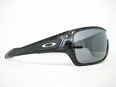 b8d87536268 NEW OAKLEY TURBINE ROTOR Sunglasses Ghost Text Black Iridium OO9307 ...
