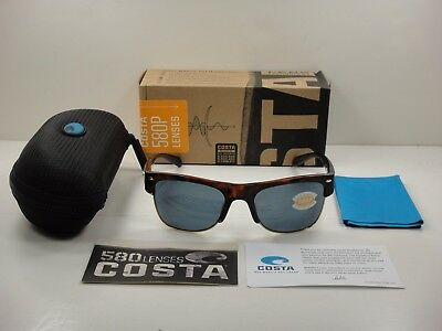 0afc4914e32 Costa Del Mar Pawleys Polarized Sunglasses Pw66 Ogp Tortoise gray 580P Lens