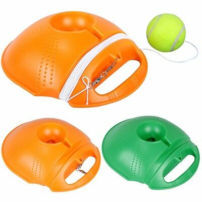 Tennis Ball Singles Training Practice Drill Balls Back Base Trainer Tool+ Tennis