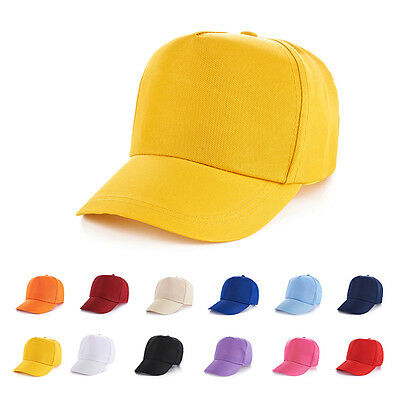 Baby Kids Adjustable Golf Hip-hop Sports Summer Caps Sun Hat Snapback.