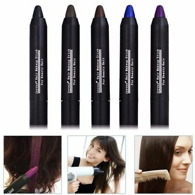 Non-Toxic Unisex Hide Cover Gray Hair Pen Instant Root Touch Up Stick Color