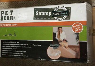 Pet Gear Step and Ramp Combination with supertraX ~ Tan New (Open Box)