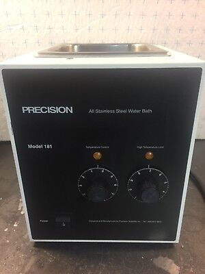 Precision Scientific Model 181 heated Water Bath