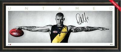 2017 Brownlow Medal Dustin Martin Signed Richmond Wings Framed - Limited Edition