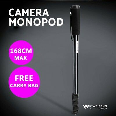 Extendable Portable Handheld Aluminium Camera Monopod Holder Stand DSLR Video AM