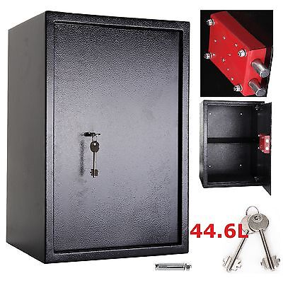 Large High Security Secure Key Steel Safe Home Office Safety Box 7 Lever Lock