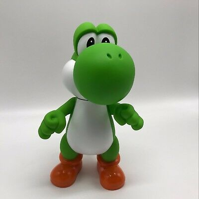 """New Super Mario Bros. Yoshi Doll PVC Plastic Action Figure Toy Collectible 9.5"""""""
