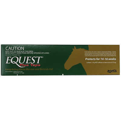 Equest Plus Tape Gel Horse Wormer - 11.8gm