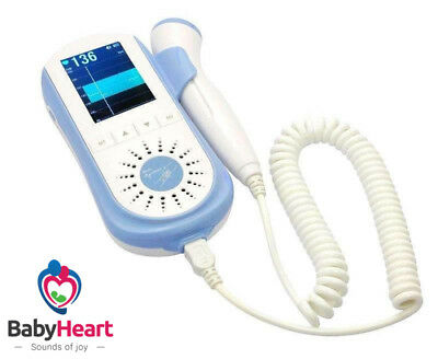 Angelsounds Fetal Acoustic Stimulator Ultrasonic Handheld Fetal Curve Doppler