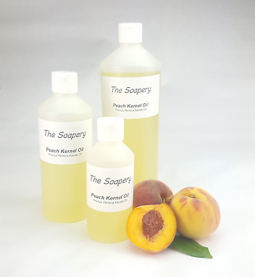 Peach Kernel Oil 100ml - 1 litre Pure Refined Massage Carrier Body Aromatherapy