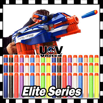 Lot Colors Refill Soft Bullet Darts Nerf N-strike Elite Series Blasters Toy Gun