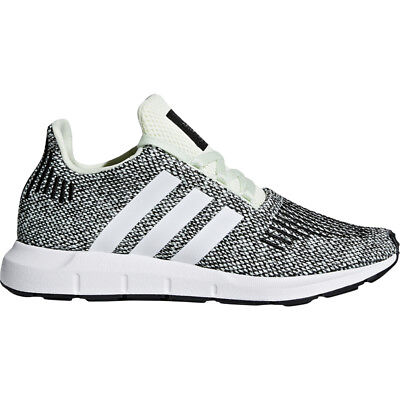 fc31ad513e7e ADIDAS ORIGINALS SWIFT Run J Grey Two Textile Youth Trainers ...