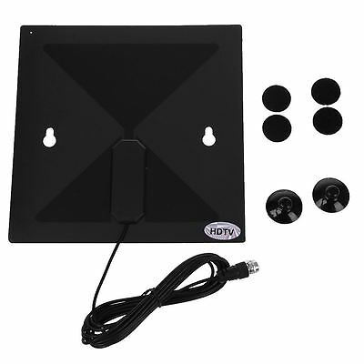Black Clear TV HD Digital Antenna - As Seen on TV - No More Cable Bills SZHKDR