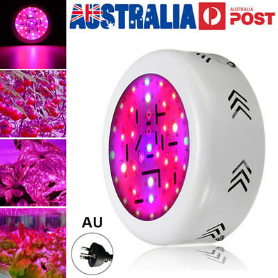 360W LED Grow Light UFO Round Lamp Red Blue UV Full Spectrum For Hydro Plant Veg