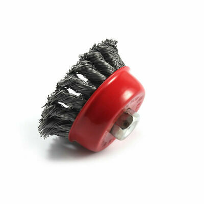 Heavy-Duty Conditioning For Metal 3 x 5//8-Inch 11 UNC D-55192 3 Inch Knotted Wire Cup Brush For Grinders Makita 1 Piece