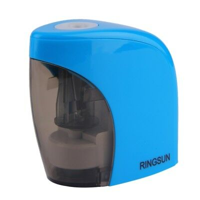 Automatic Blue Electric Battery Pencil Sharpener For Office School use DG