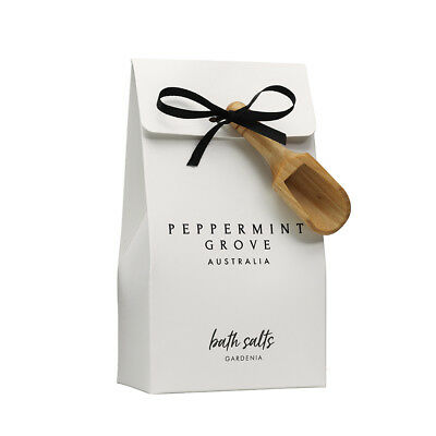 NEW Peppermint Grove Gardenia Bath Salts 200g