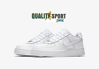 Nike Air Force 1 Bianco Scarpe Shoes Donna Sportive Sneakers 314192 117 2018