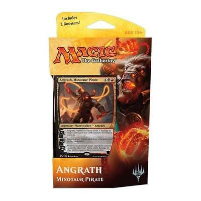 Planeswalker Deck - Angrath, Minotaur Pirate * Rivals of Ixalan * Magic: The ...