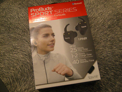 TZUMI PROBUDS SPORT Series Wireless Earbuds 4645JCP BRAND NEW