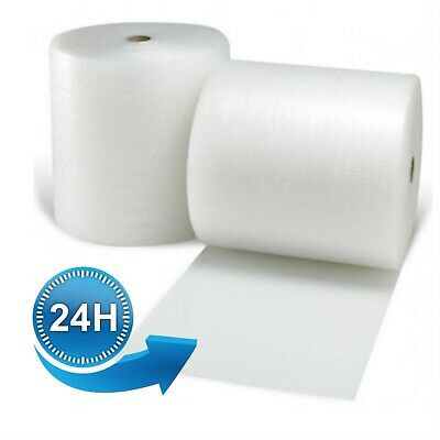 3 ROLLS 500MM x 100M SMALL BUBBLE WRAP CUSHIONING QUALITY BUBBLE 100 METERS ROLL