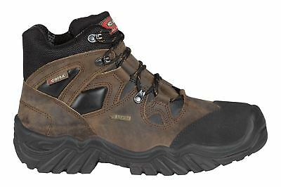 cd69abcfae1 COFRA NEW WARREN Black Full Safety Steel Toecap Gore-Tex Leather ...