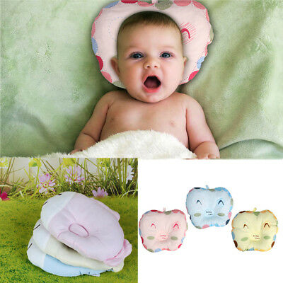 Baby Pillow Infant Newborn Anti Flat Head Syndrome pillow for Crib Cot Bed
