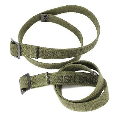 2pcs lot Genuine German army canvas webbing belt utility Lashing strap 70cm