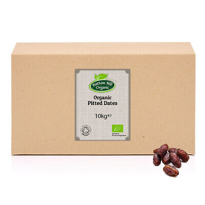 Organic Pitted Deglet Nour Dates 10kg (Box) Certified Organic