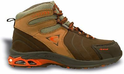 MENS Cofra S3 LEATHER SAFETY SHOES WELDING FOUNDRY STEEL TOE CAP WORK BOOTS 6-13