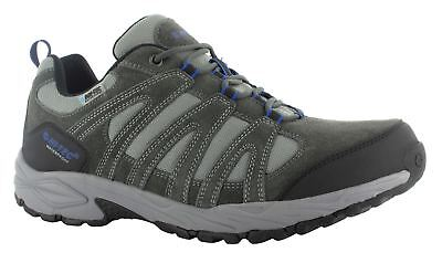 Hi Tec Alto II Low Mens Walking Lace Up Waterproof Hiking Trainers Charcoal