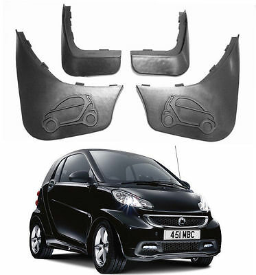 New Genuine Splash Guards Mud Guards Mud Flaps For 08-2015 Smart ForTwo 451 W451