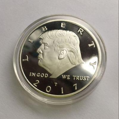 Donald Trump Eagle Coin Make America GREAT Again 45th President USA Liberty