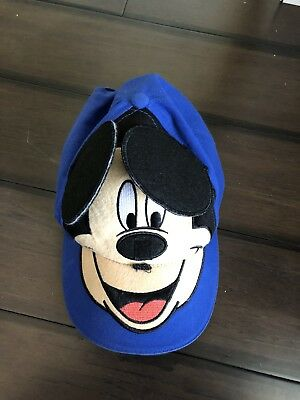 Disney Mickey Mouse Baseball with Blue Ears Youth Boys Boy Hat Cap