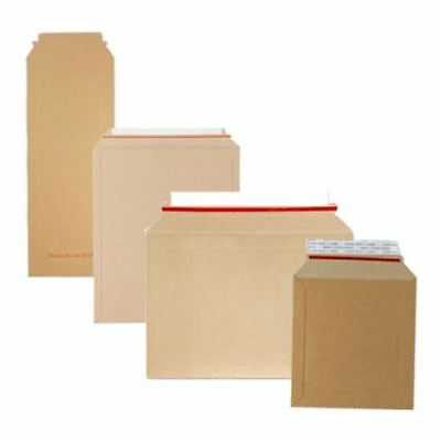 Rigid Cardboard Amazon Style Book Mailers A4 A3 CD DVD Strong