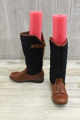 db9e6bd9b Tommy Hilfiger Andrea Rider Boots - Little Kid's Size 1, Brown/Navy MSRP  $60.00