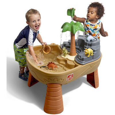STEP2 DINO DIG Sand Water Table Outdoor Play Toddler Fine Motor ...