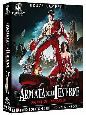 L'Armata Delle Tenebre (Limited Edition) (3 Blu-Ray + 4 Dvd 2B Booklet)