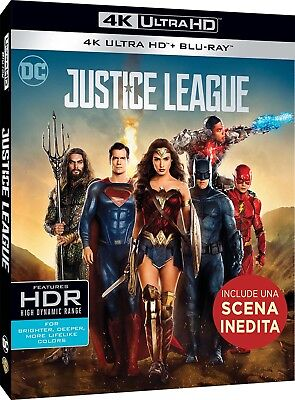 Justice League (4K Ultra HD + Blu Ray) (Blu-Ray) WARNER HOME VIDEO