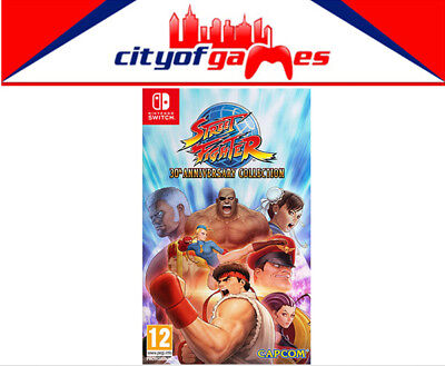 Street Fighter 30th Anniversary Collection Nintendo Switch Game New & Sealed