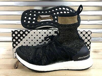 2ead4de798be Adidas Ultraboost X Mid Stella McCartney Ultra Boost Navy Gold SZ ( BY1834 )