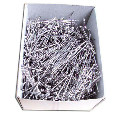 Steel Pins Floristry And Crafts Silver Colour 4cm Long Choose Quantity