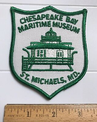 Chesapeake Bay Maritime Museum St. Michaels Maryland MD Embroidered Patch